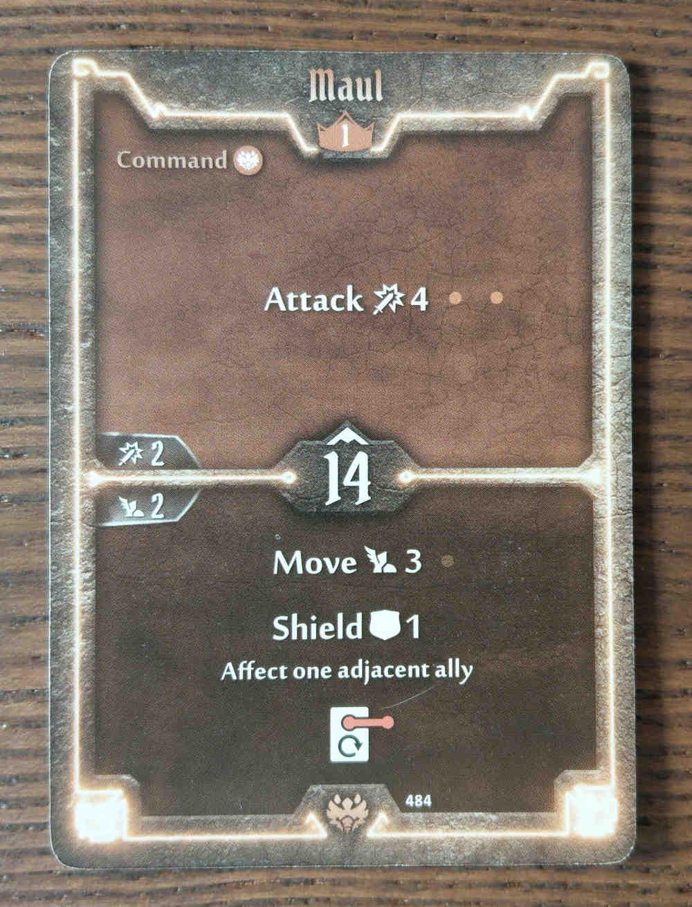 Beast Tyrant card Maul