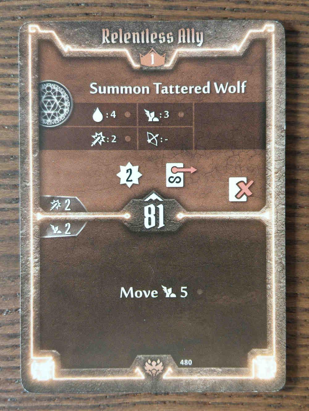 Beast Tyrant card Relentless Ally
