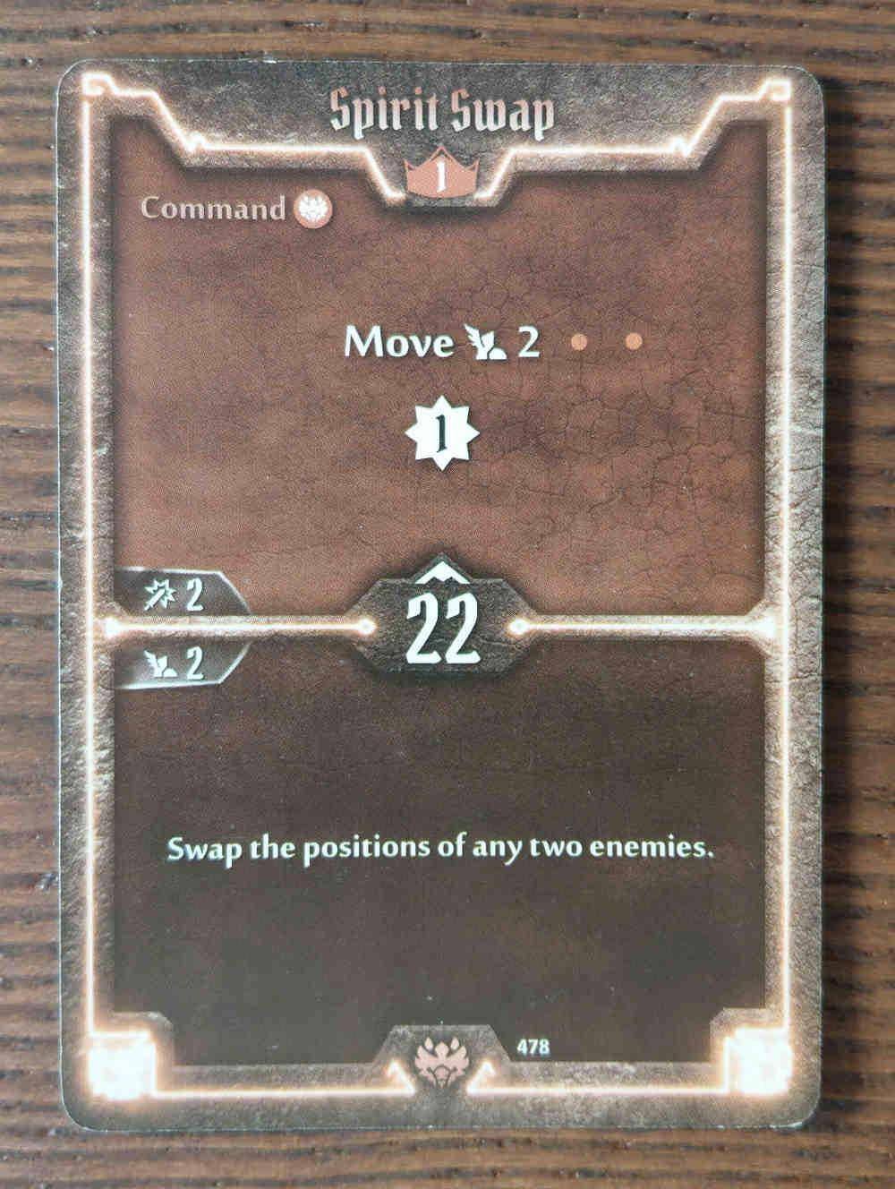 Beast Tyrant card Spirit Swap