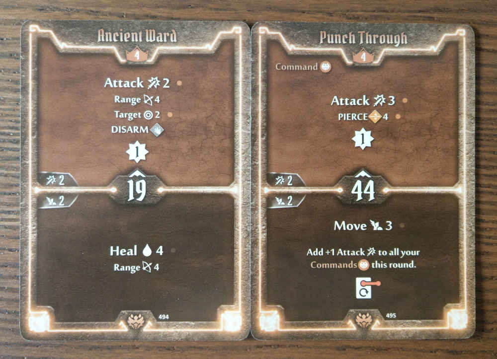 Beast Tyrant level 4 cards - Ancient Ward and Punch Through