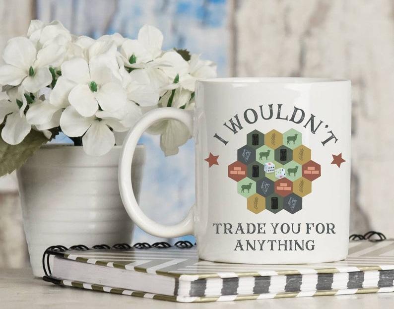 Catan romantic mug - Image credit: Asian Poly on Etsy.