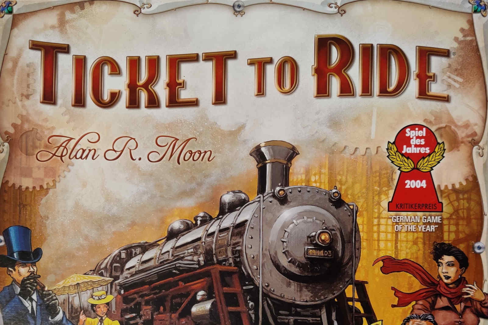 Ticket to Ride board game cover