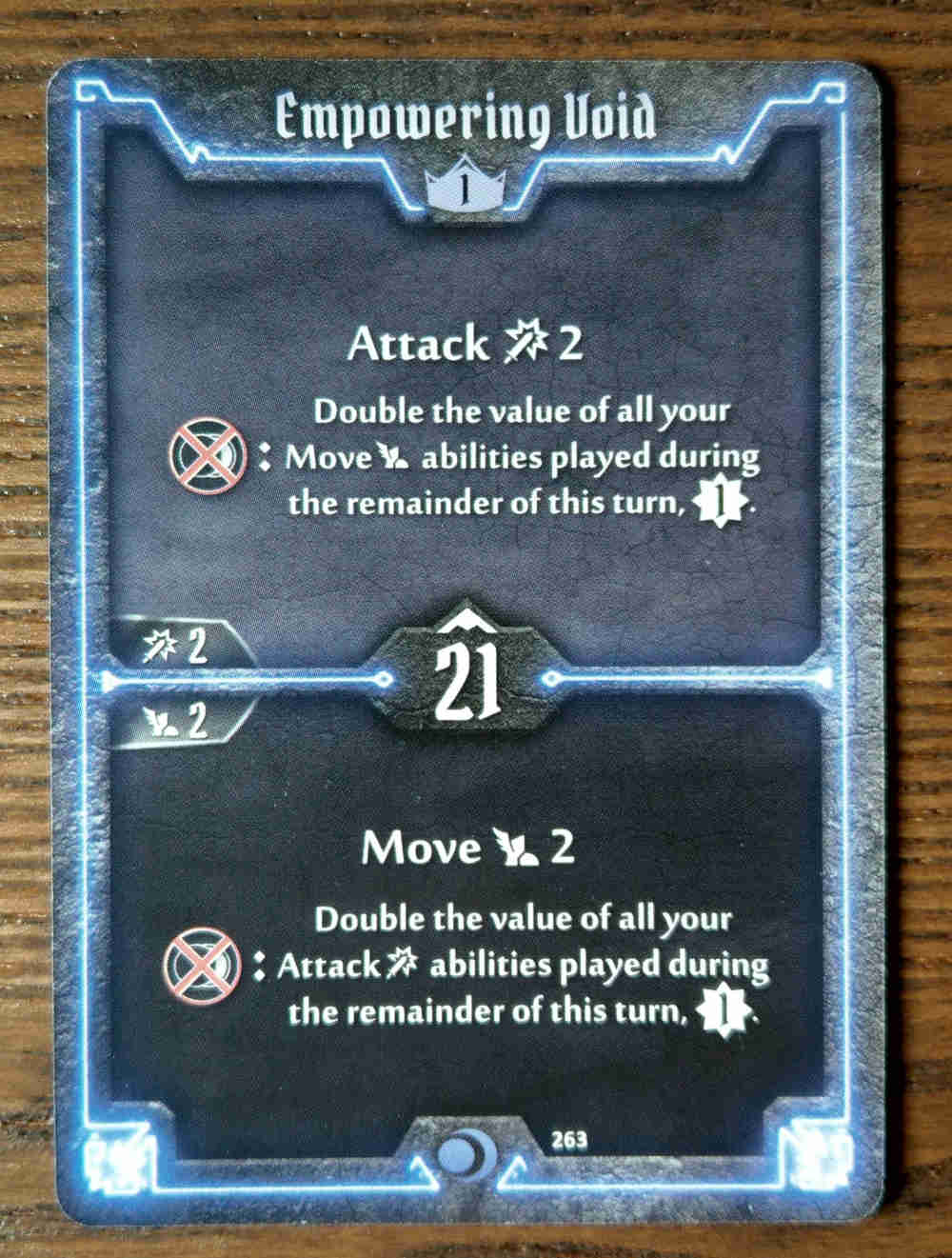 Level 1 Nightshroud card Empowering Void