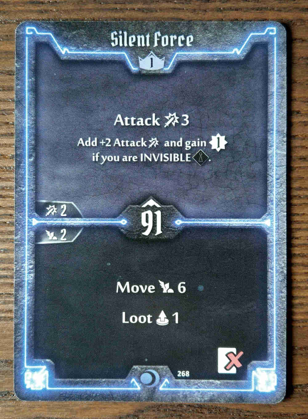 Level 1 Nightshroud card Silent Force