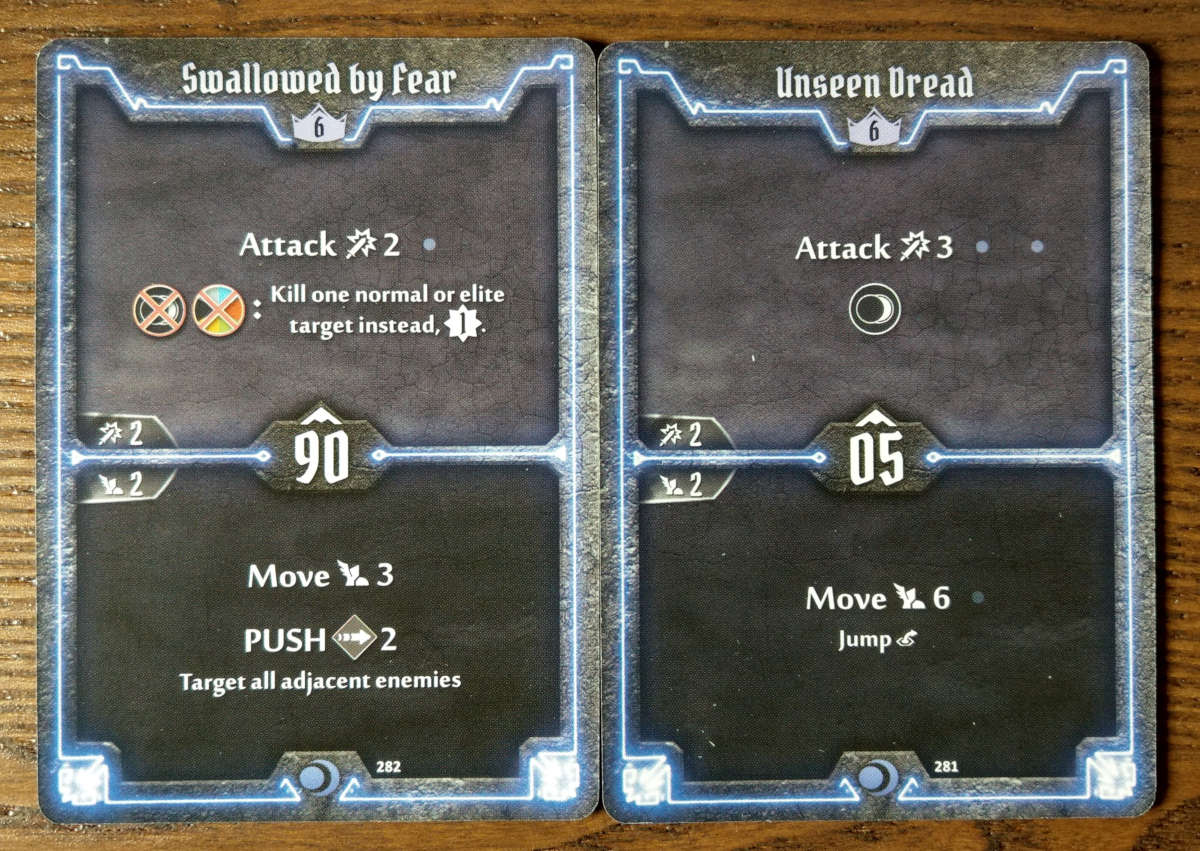 Level 6 Nightshroud cards - Swallowed by Fear and Unseen Dread