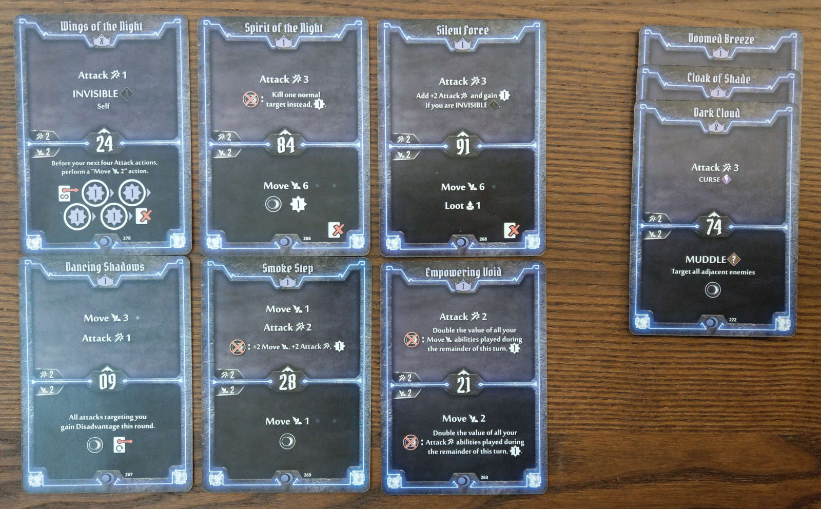 Nightshroud level 1 cards to discard