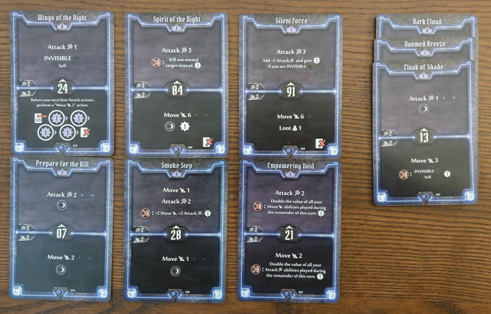 Nightshroud level 2 cards to discard