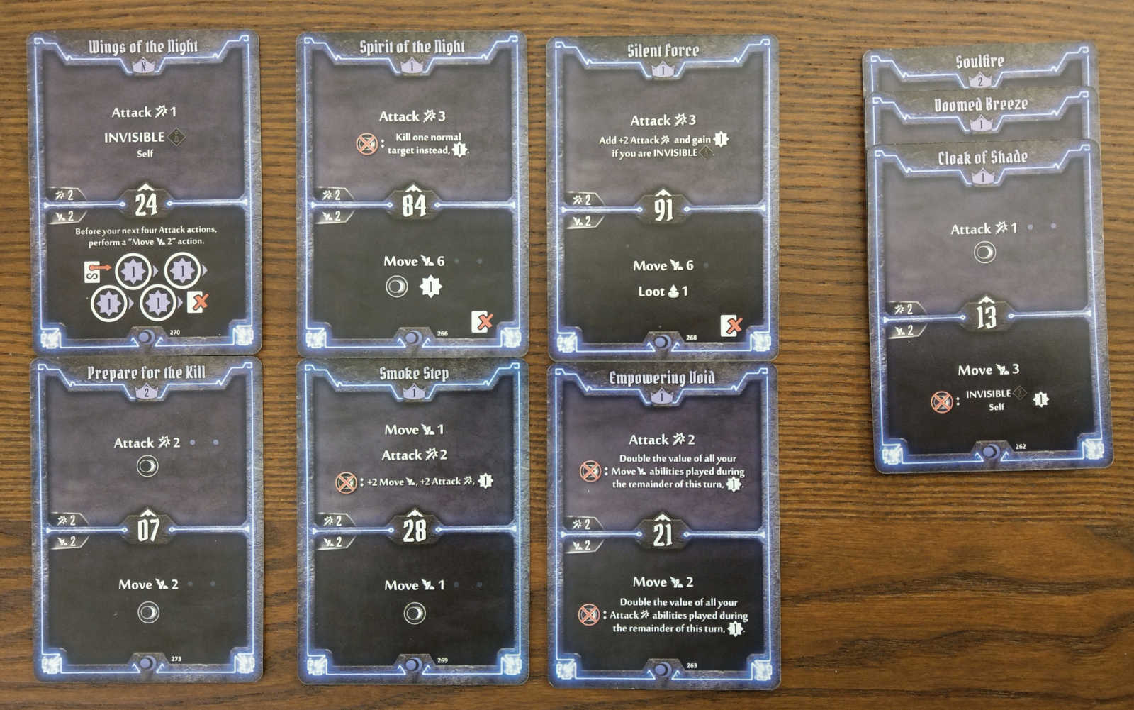 Nightshroud level 3 cards to discard