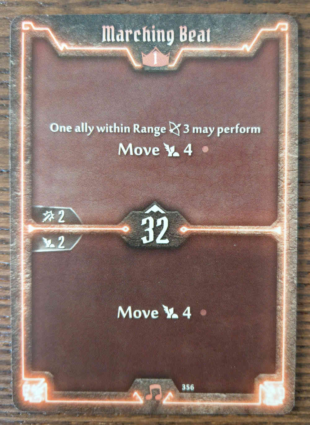 Level 1 Soothsinger card Marching Beat