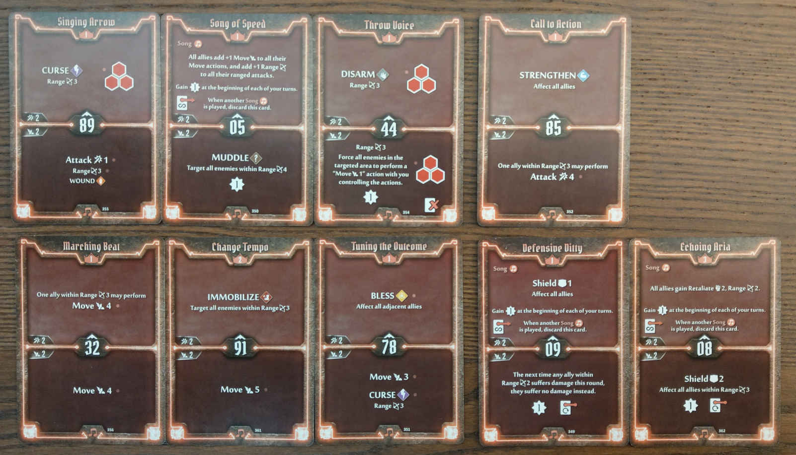 Soothsinger Level 3 build deck cards