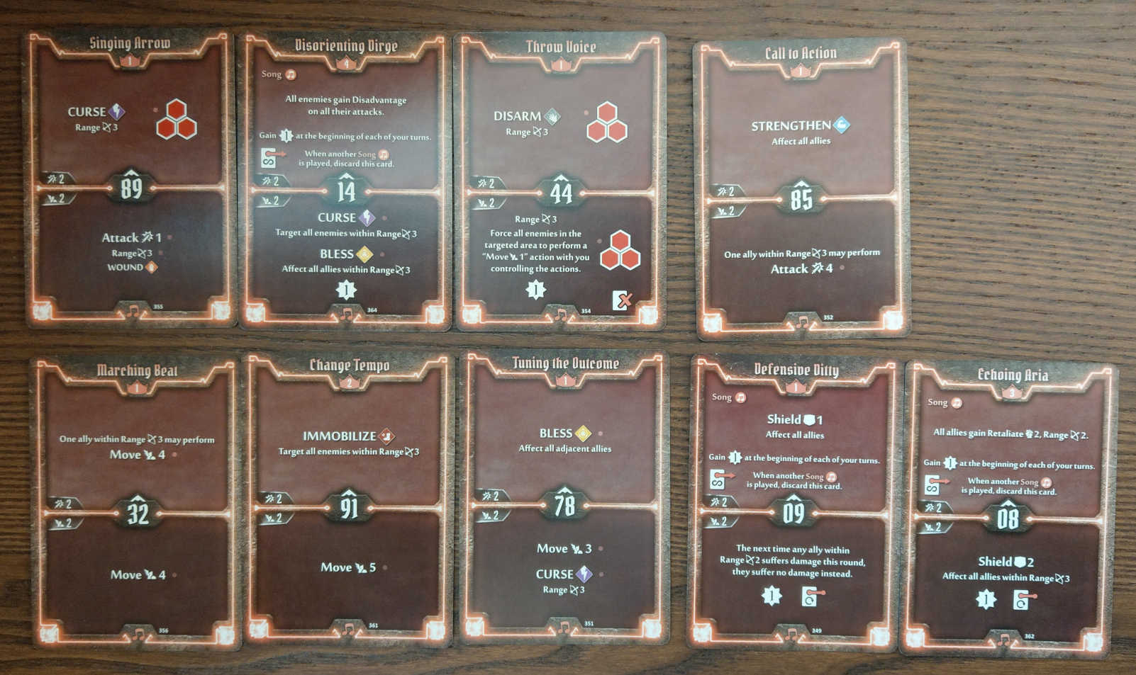 Soothsinger Level 4 build deck cards