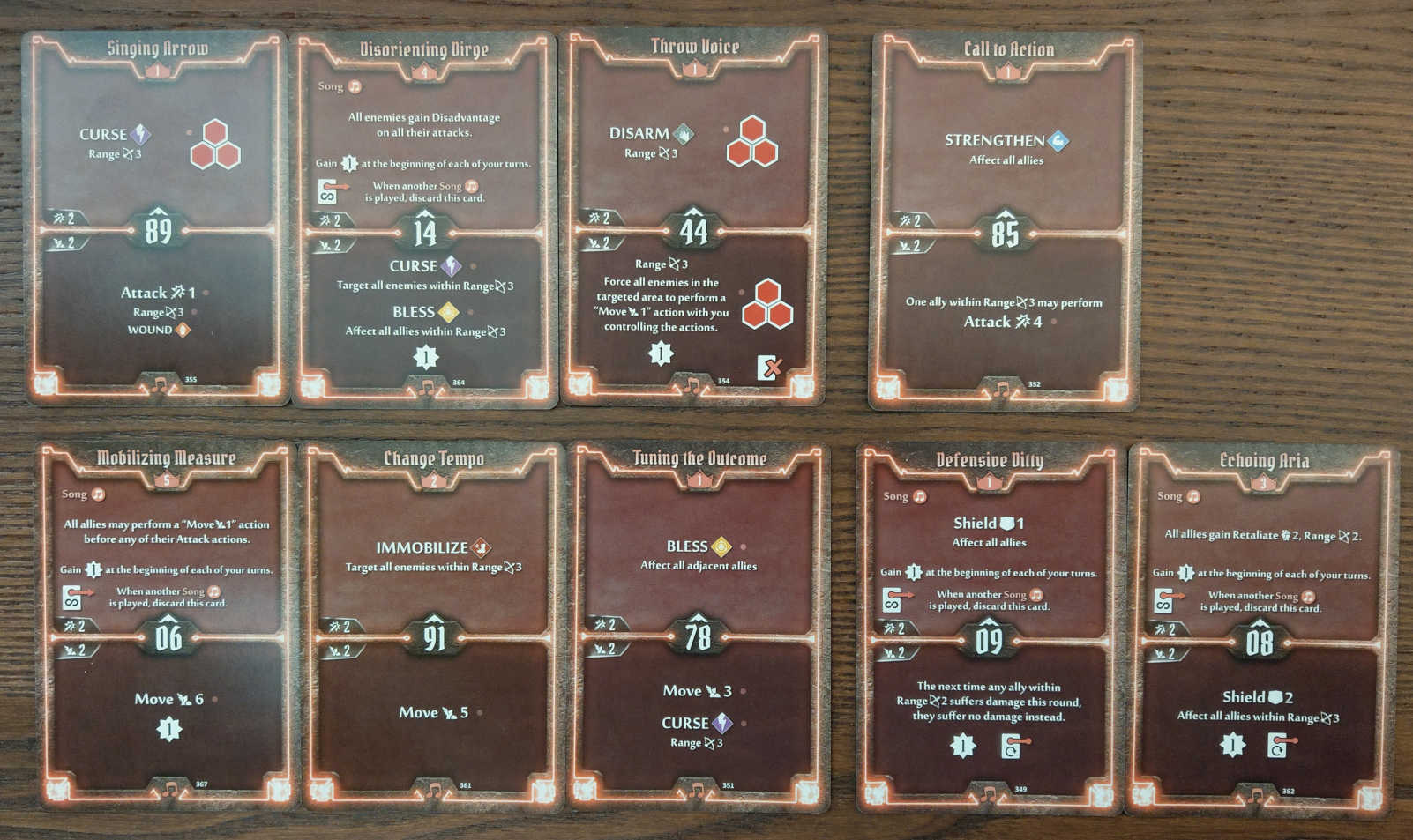 Soothsinger Level 5 build deck cards