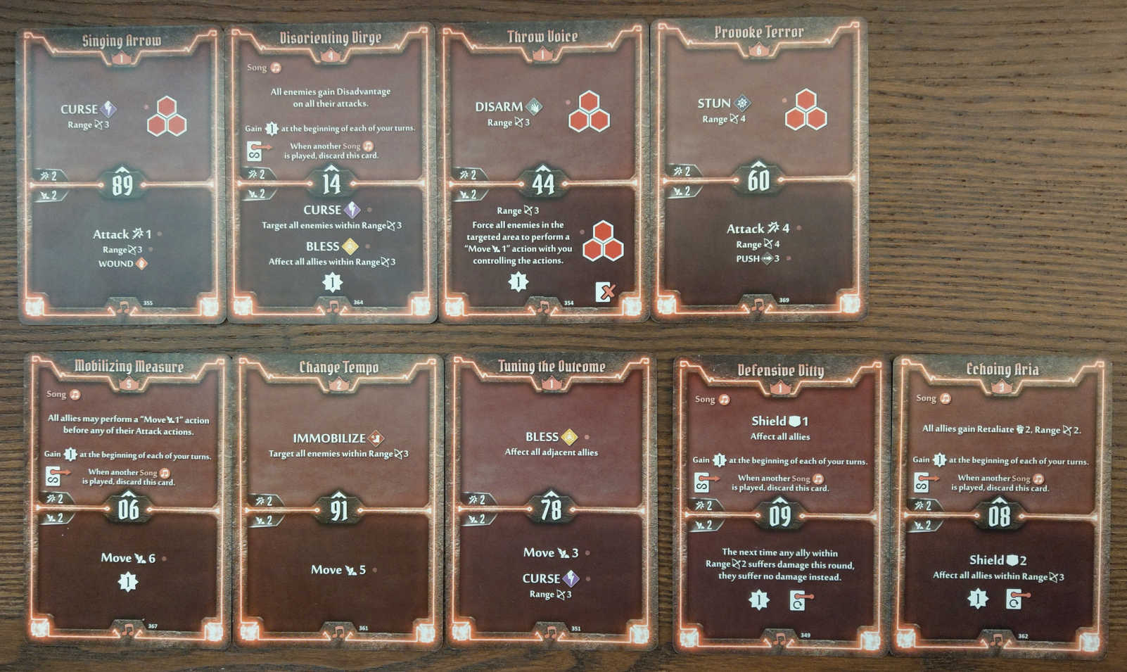 Soothsinger Level 6 build deck cards
