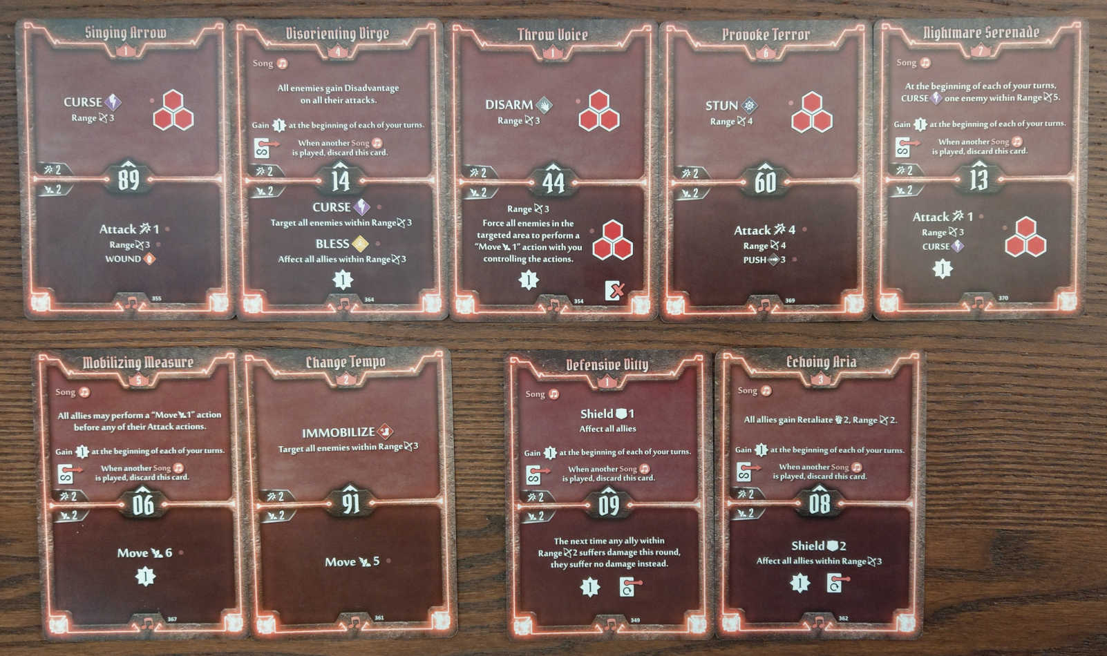 Soothsinger Level 7 build deck cards