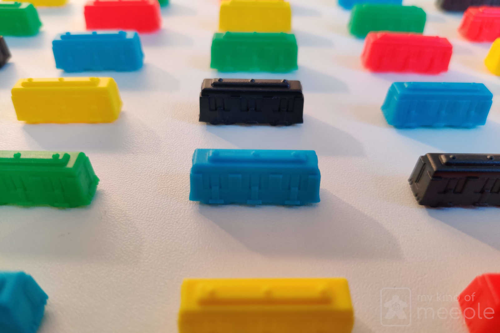 ticket to ride board game coloured trains