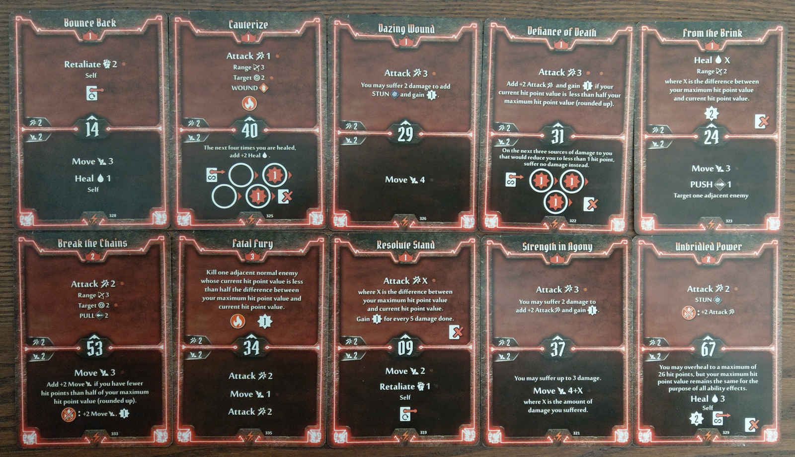 Berserker level 3 build deck cards