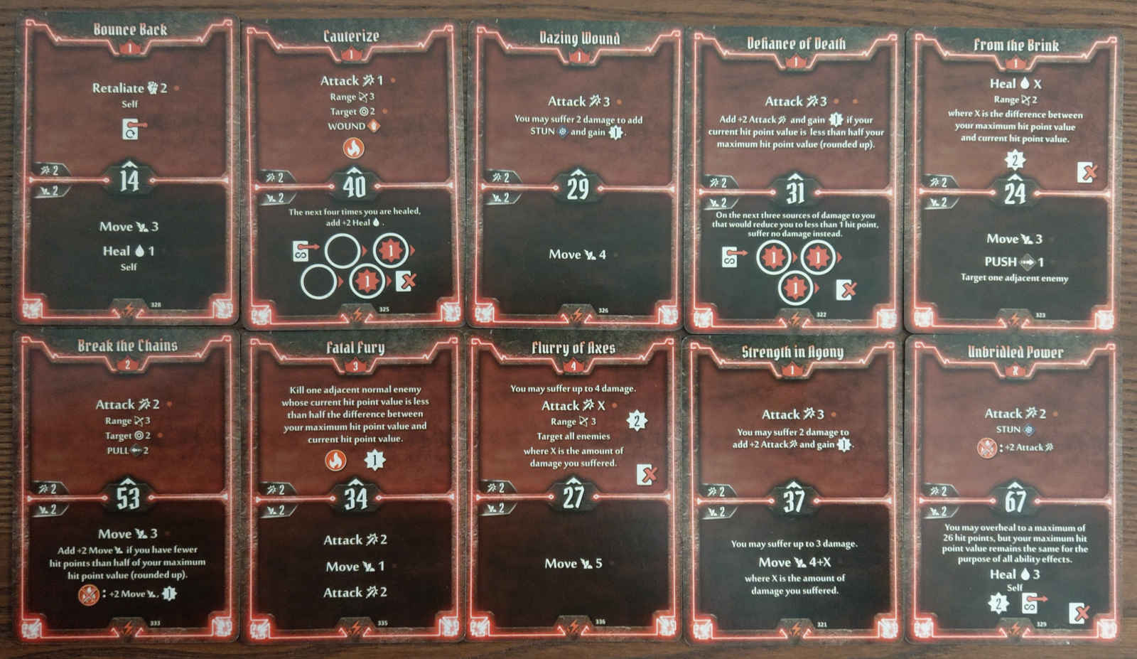 Berserker level 4 build deck cards