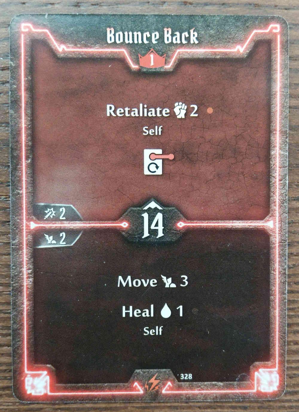 Level 1 Berserker card Bounce Back