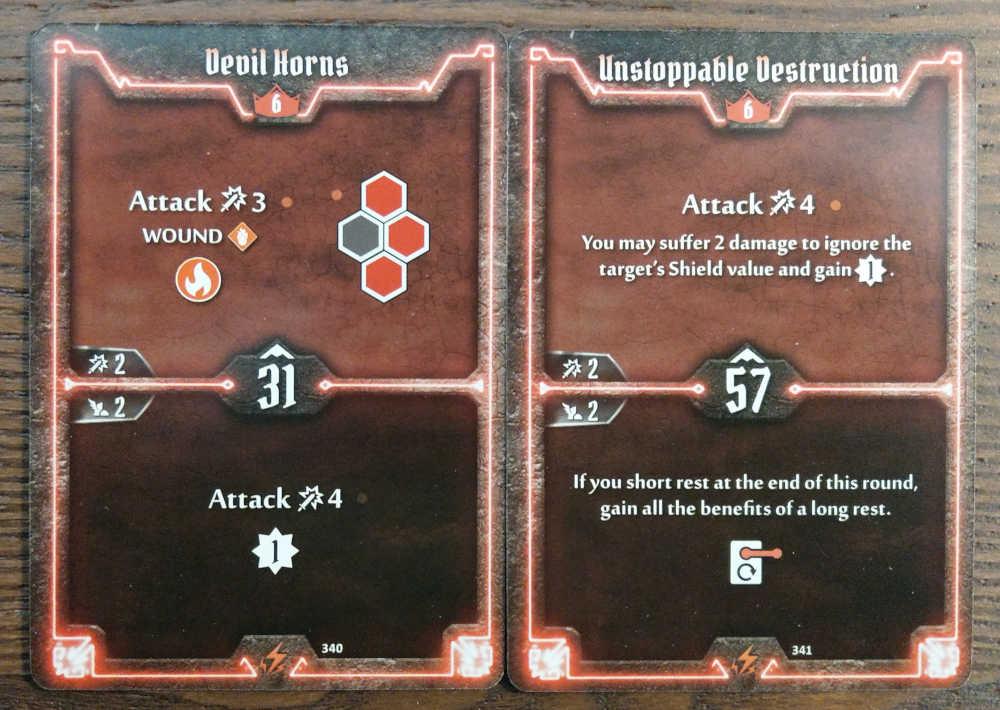 Level 6 Berserker cards - Devil Horns and Unstoppable Destruction