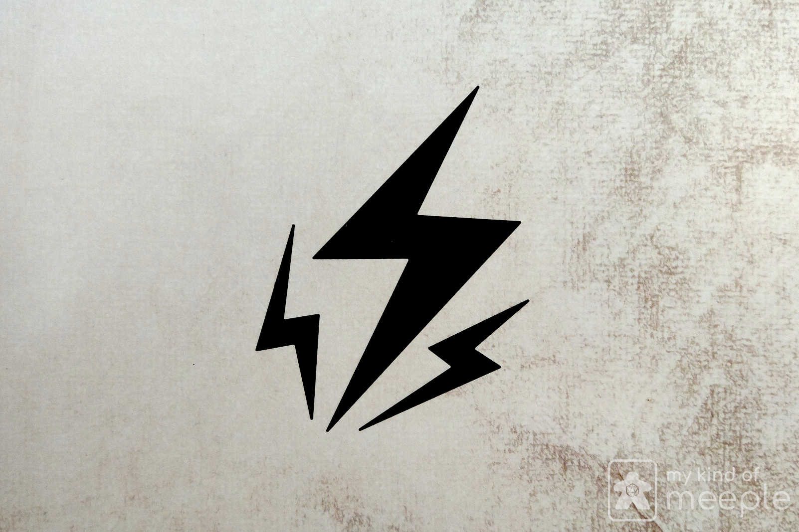 Gloomhaven lightning bolt class symbol