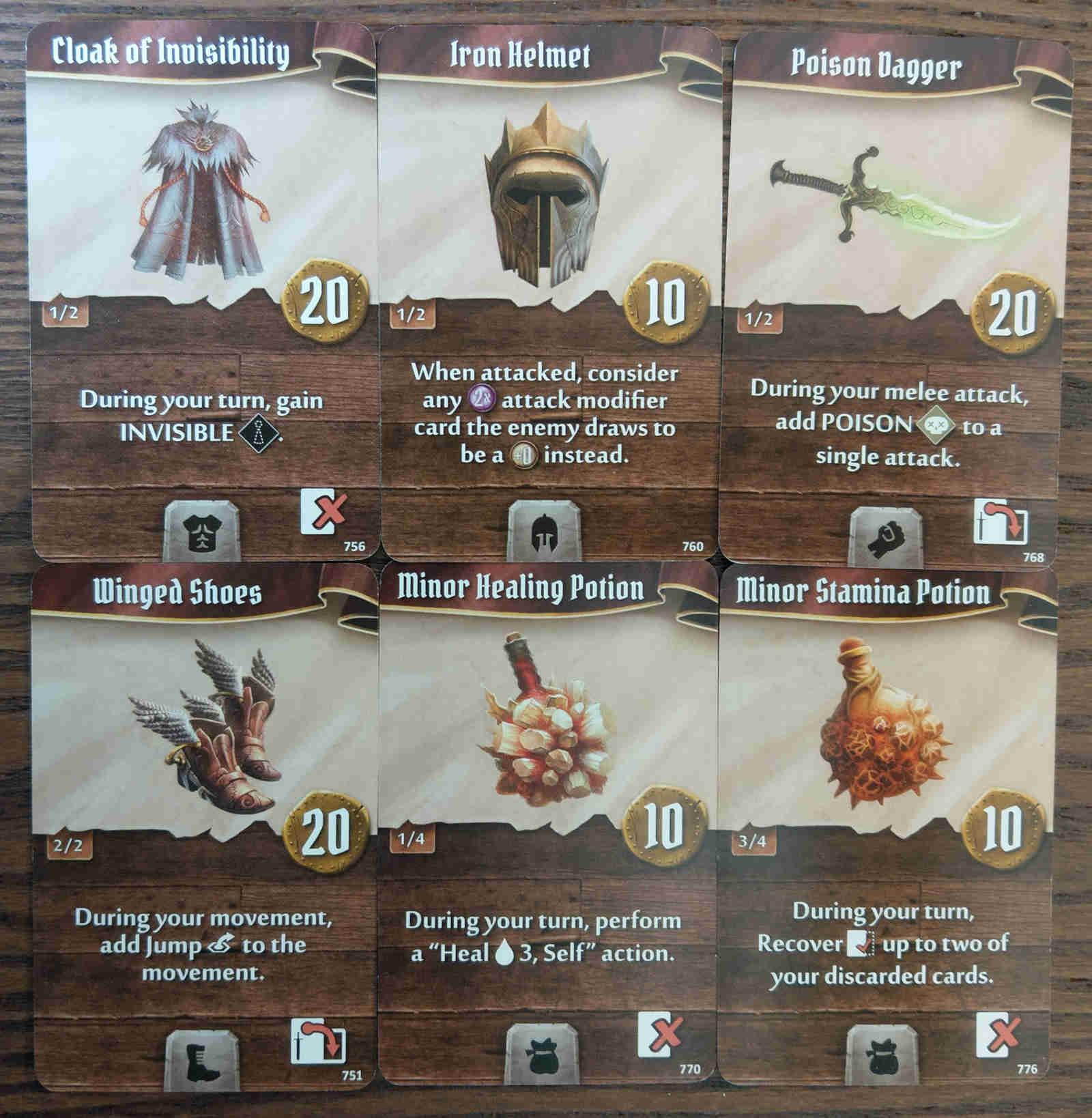 Berserker starting items cards