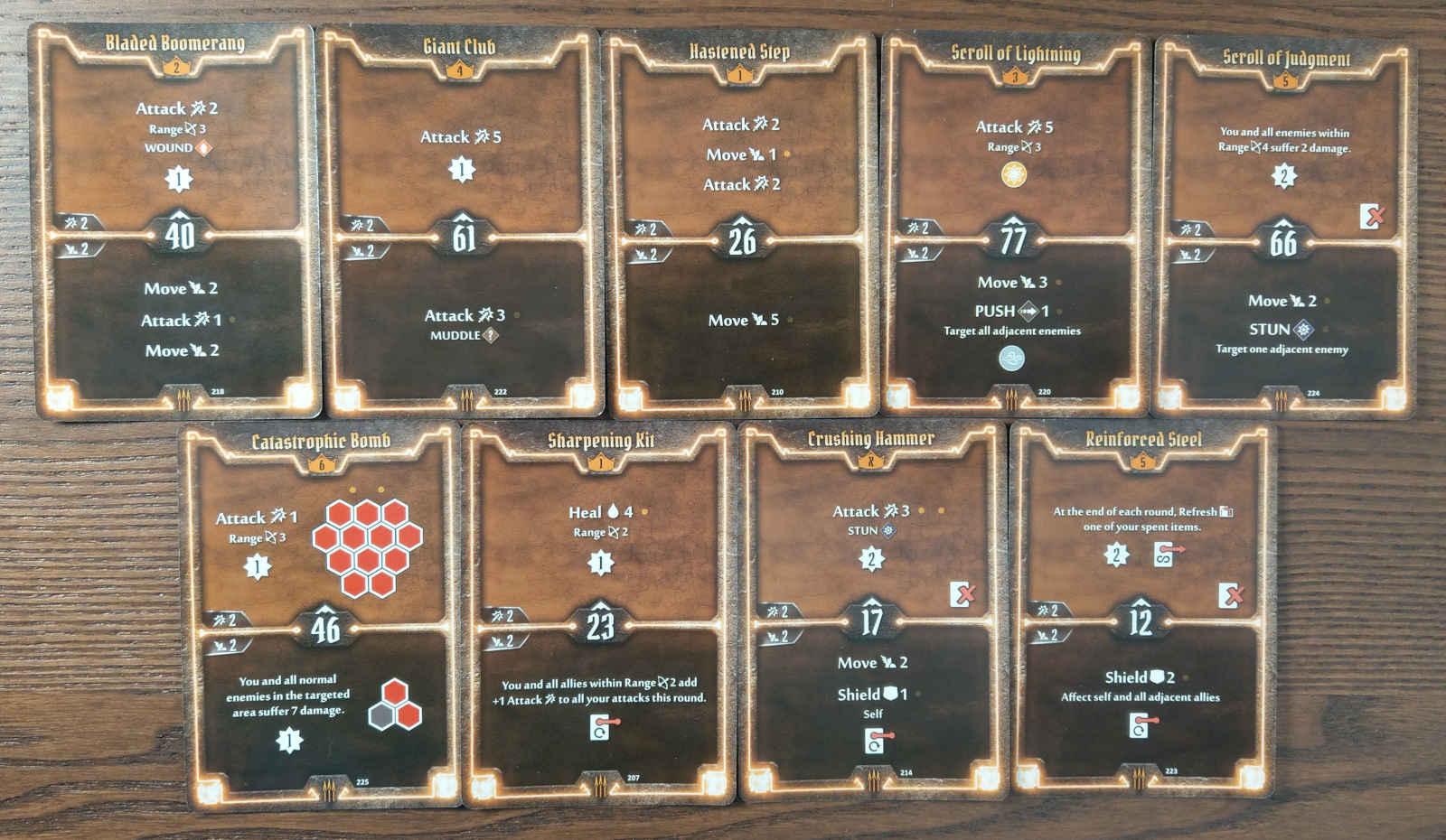Quartermaster level 7 build deck cards