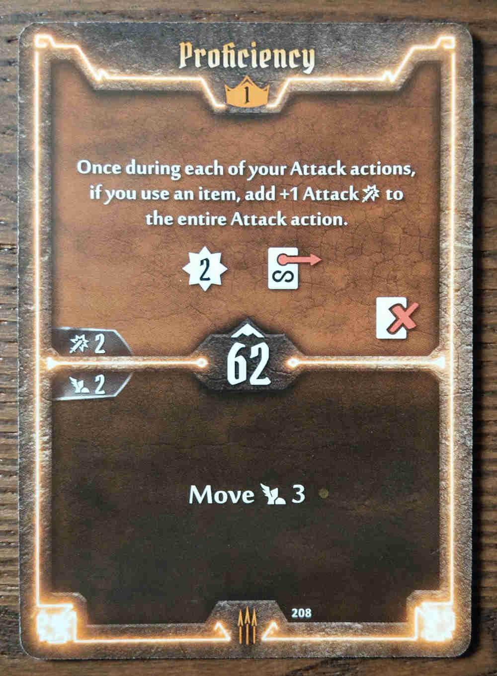 Level 1 Quartermaster card Proficiency