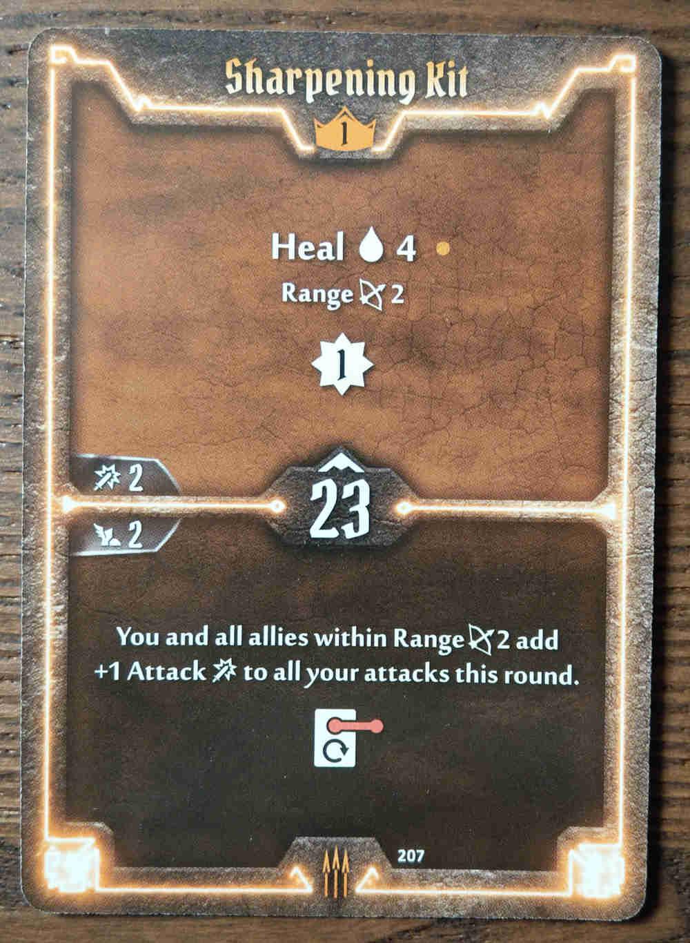 Level 1 Quartermaster card Sharpening Kit