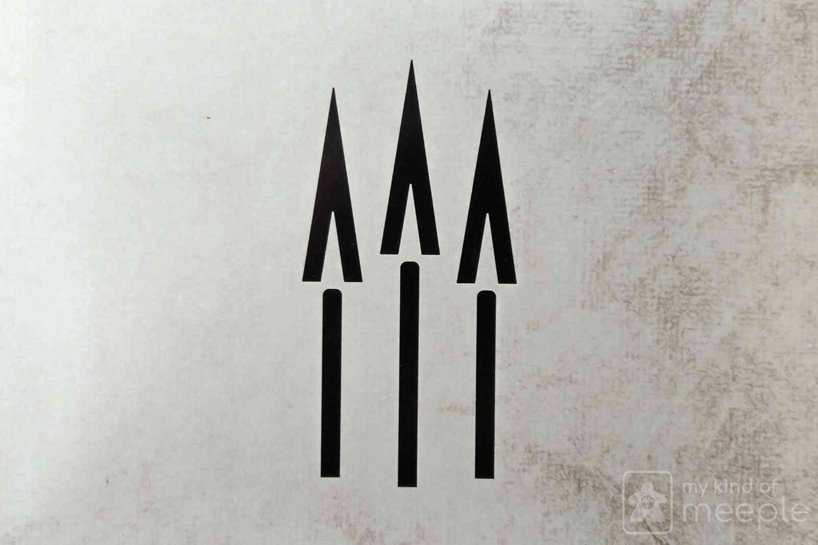 Gloomhaven Quartermaster three spears symbol