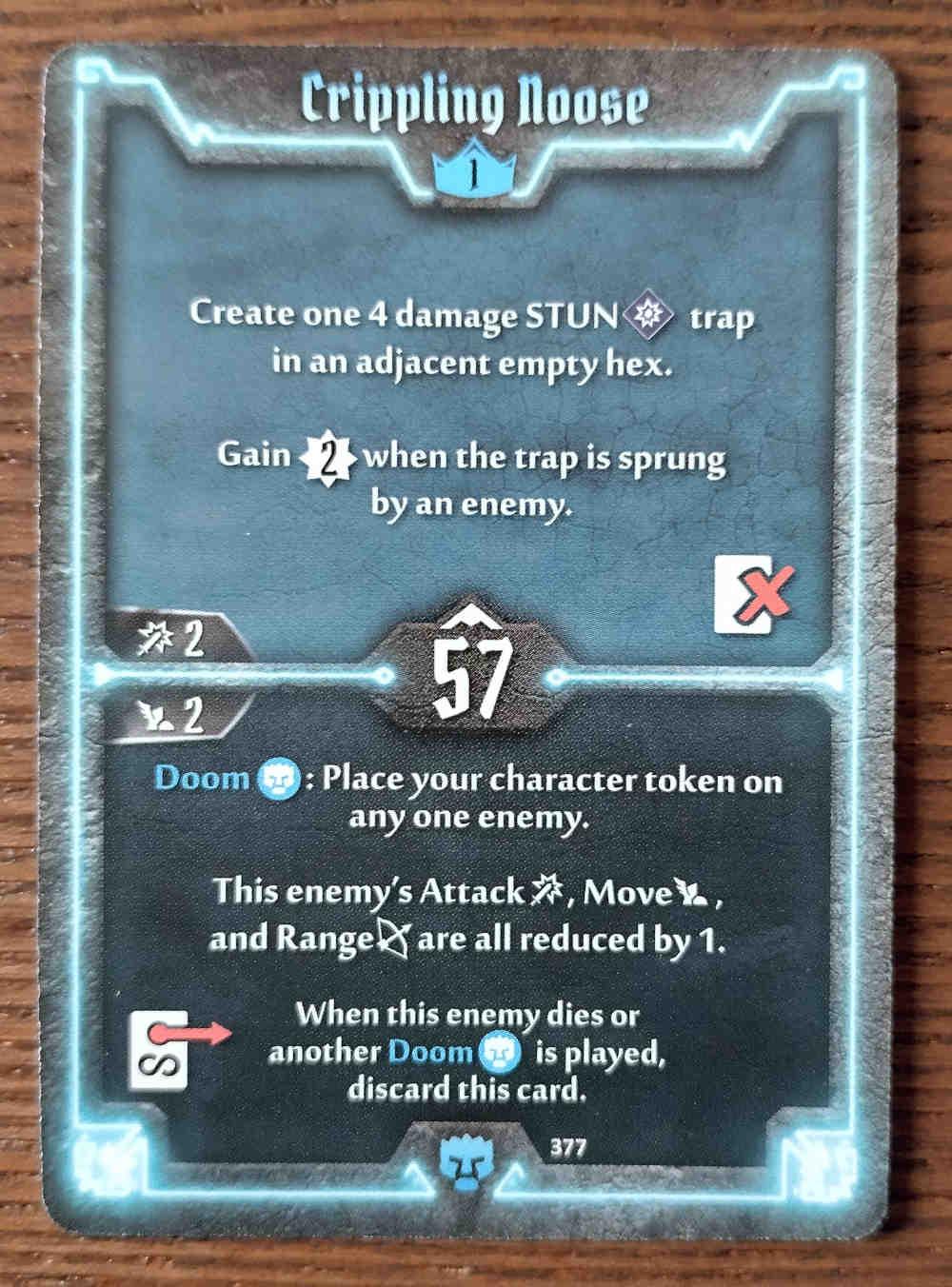 Level 1 Doomstalker card Crippling Noose