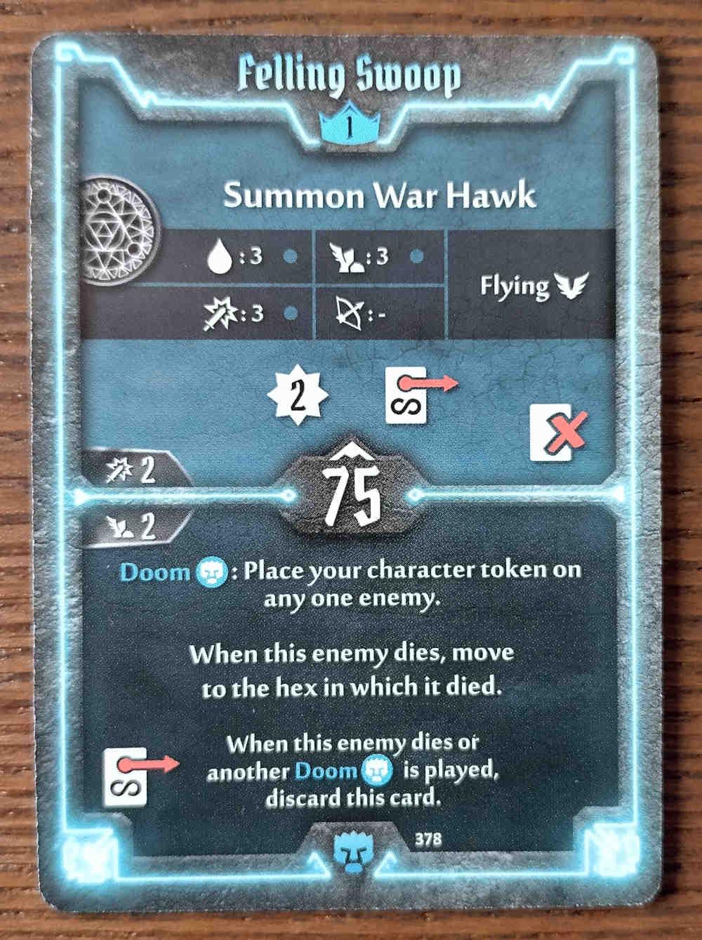 Level 1 Doomstalker card Felling Swoop