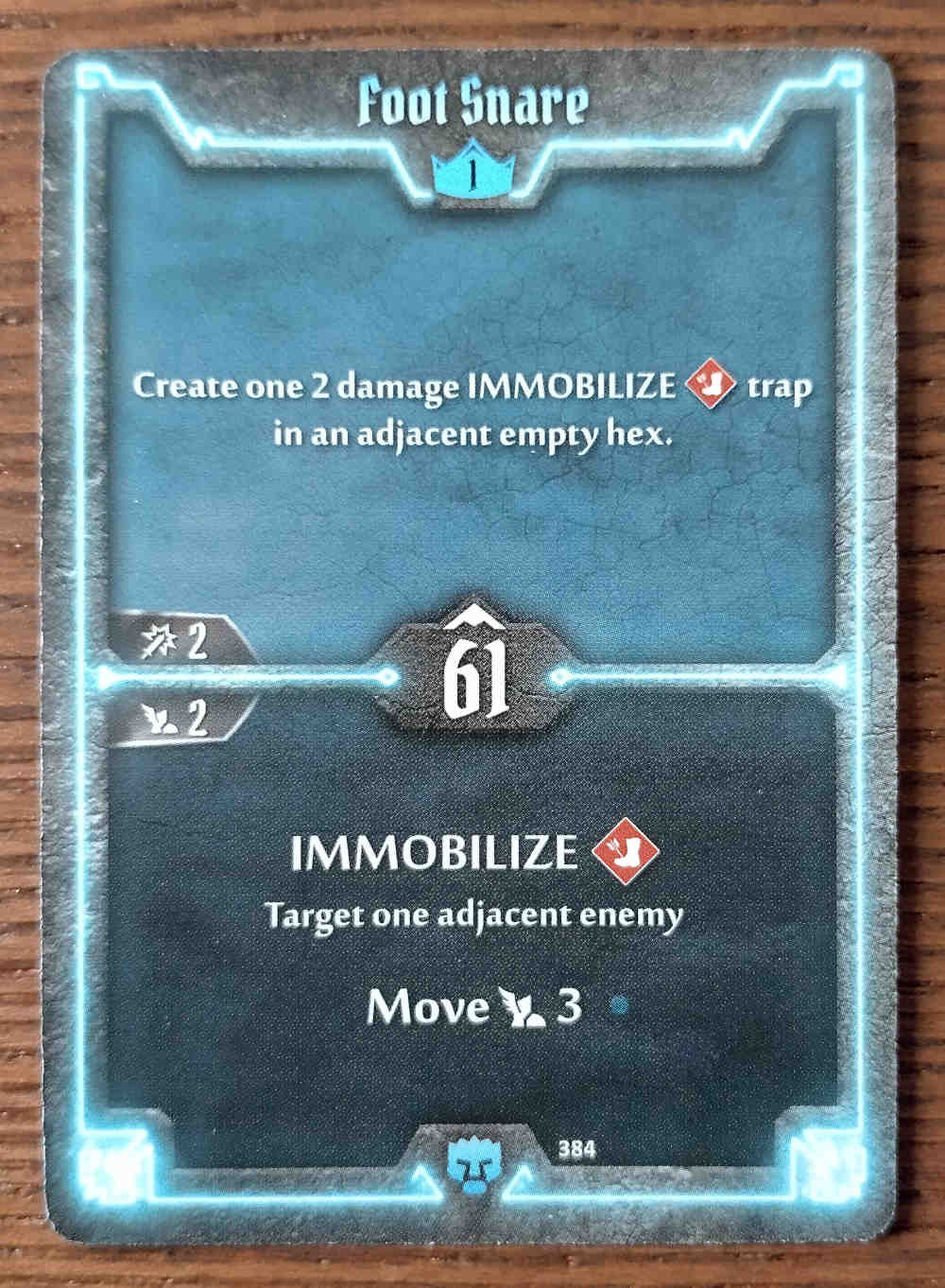 Level 1 Doomstalker card Foot Snare