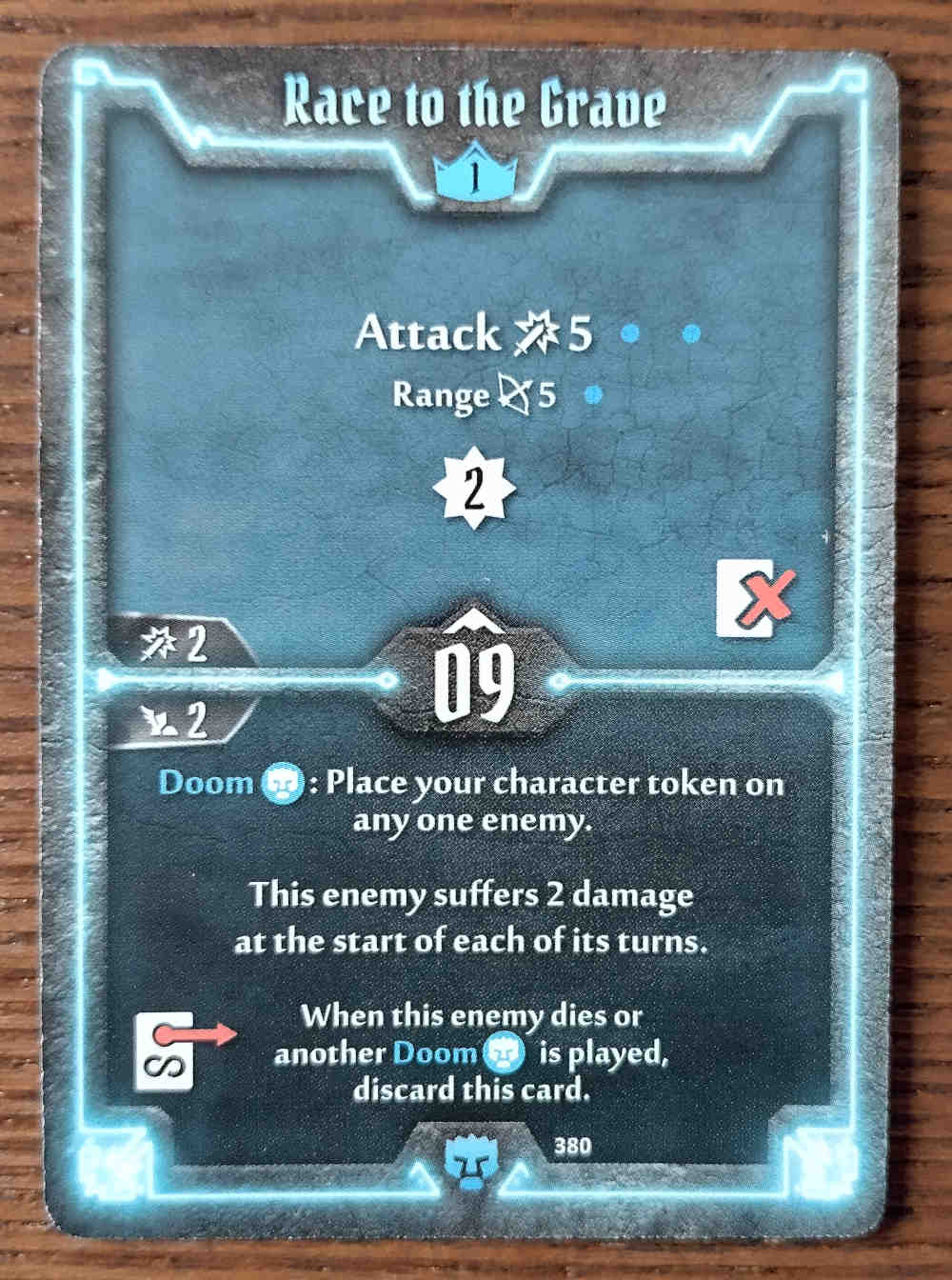 Level 1 Doomstalker card Race to the Grave