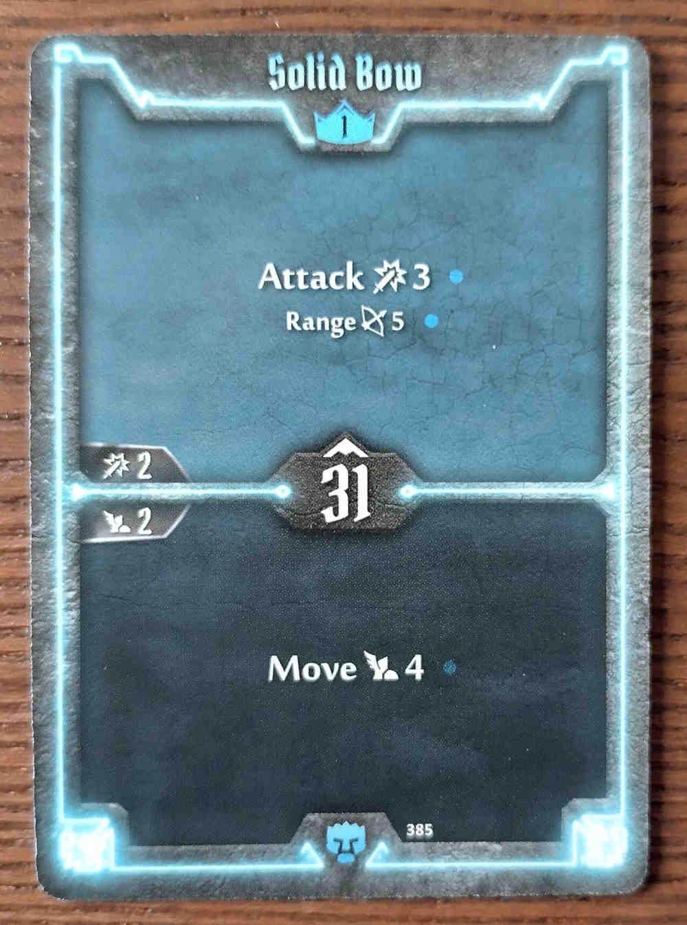 Level 1 Doomstalker card Solid Bow