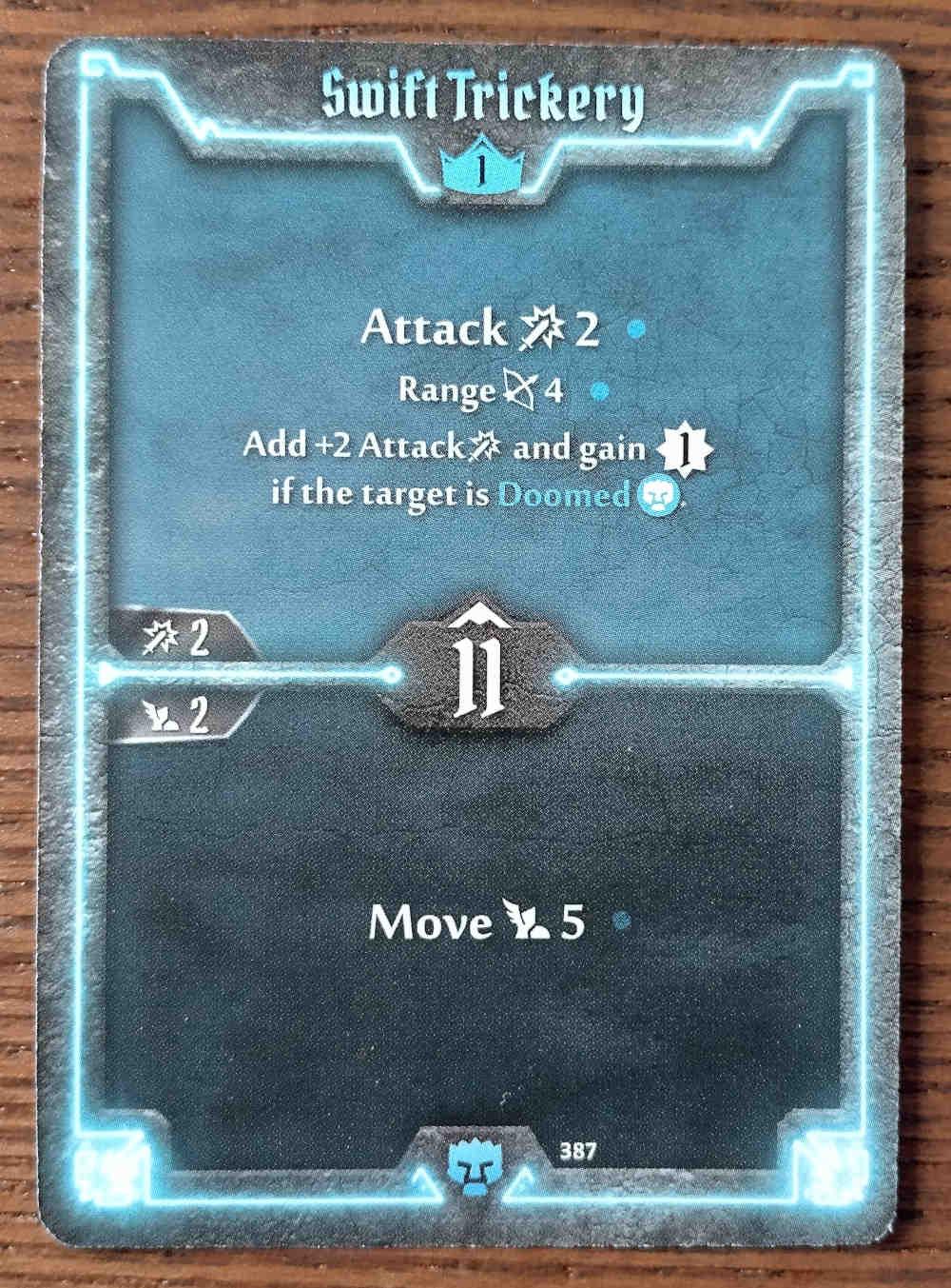 Level 1 Doomstalker card Swift Trickery