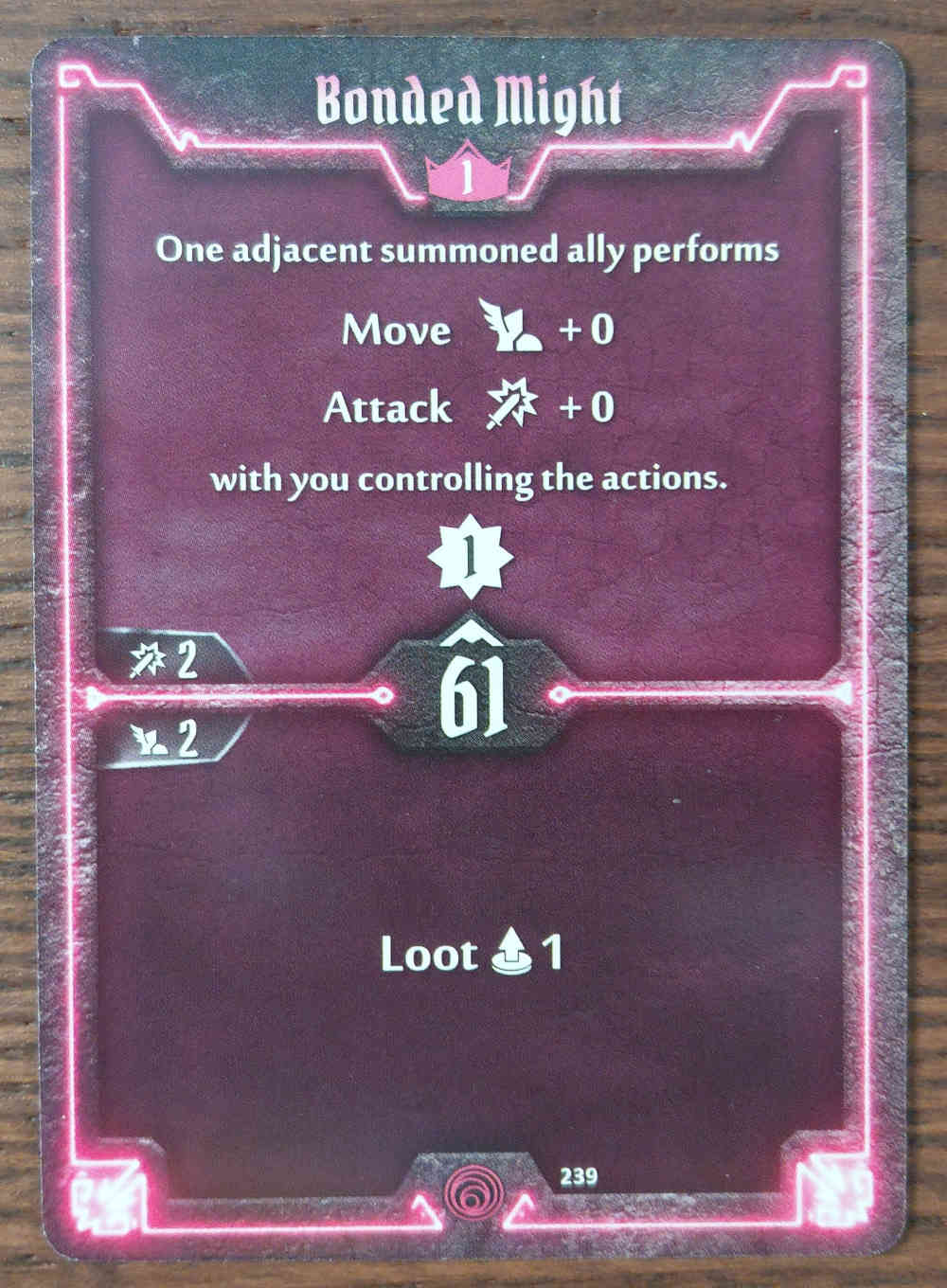 Level 1 Summoner card Bonded Might
