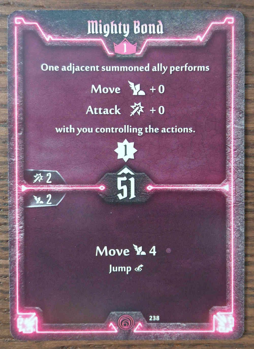 Level 1 Summoner card Mighty Bond