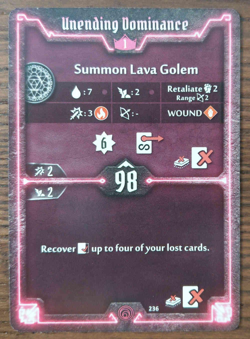 Level 1 Summoner card Unending Dominance