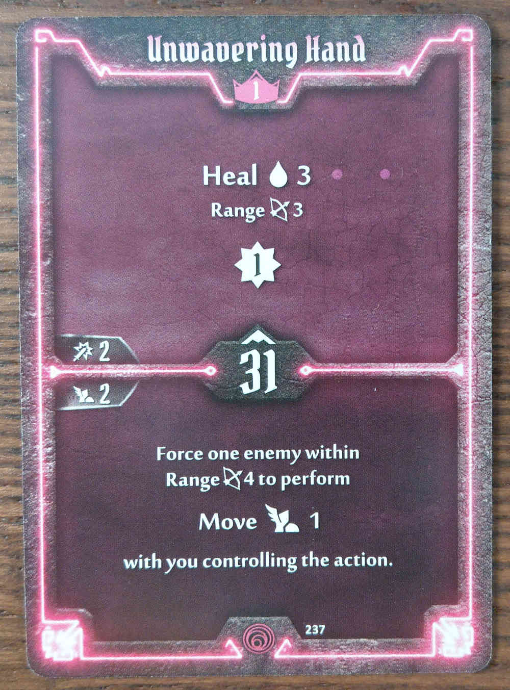 Level 1 Summoner card Unwavering Hand