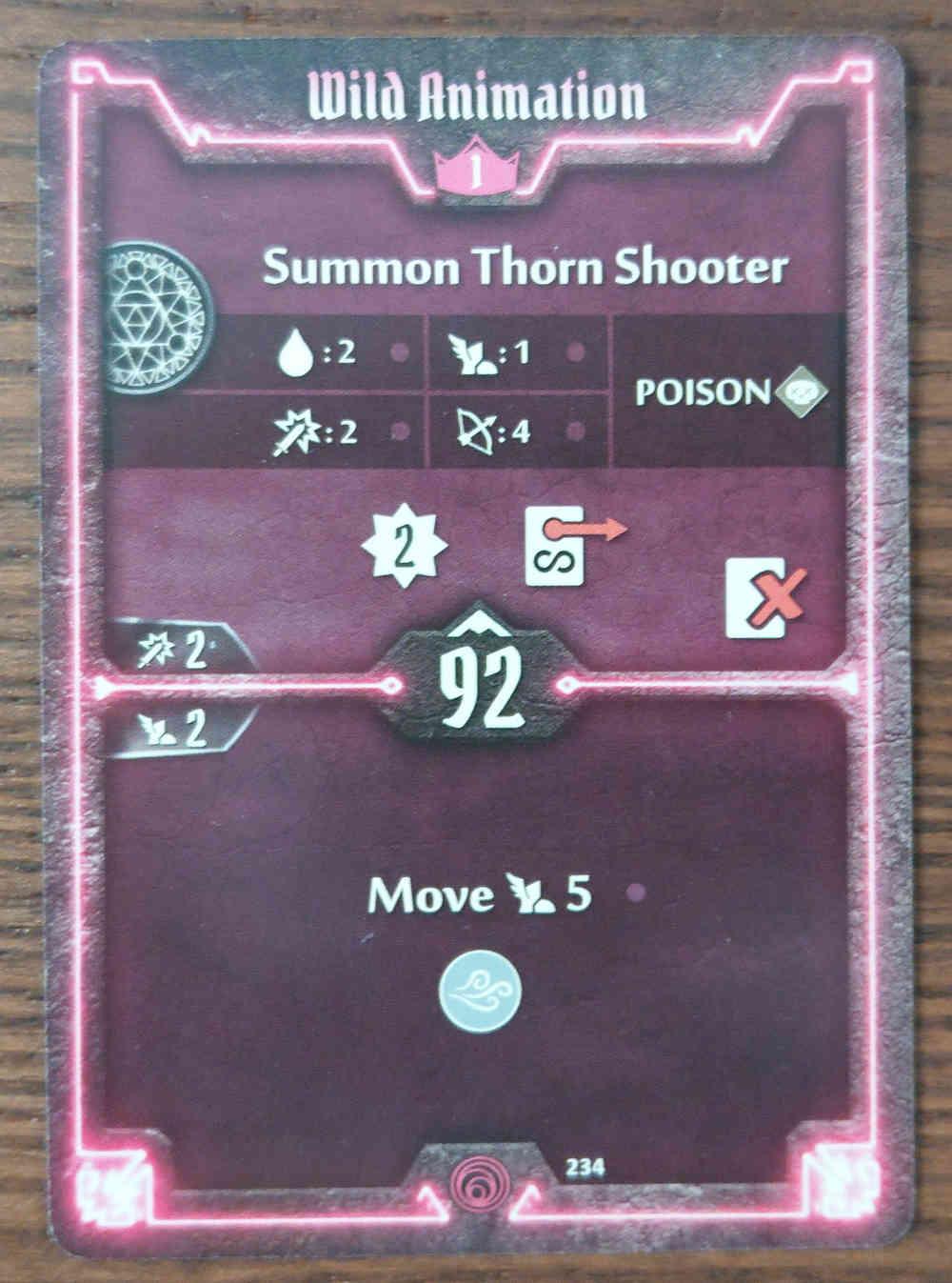 Level 1 Summoner card Wild Animation