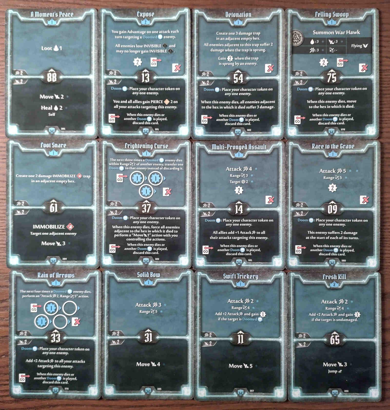 Doomstalker Expose Build level 2 deck cards