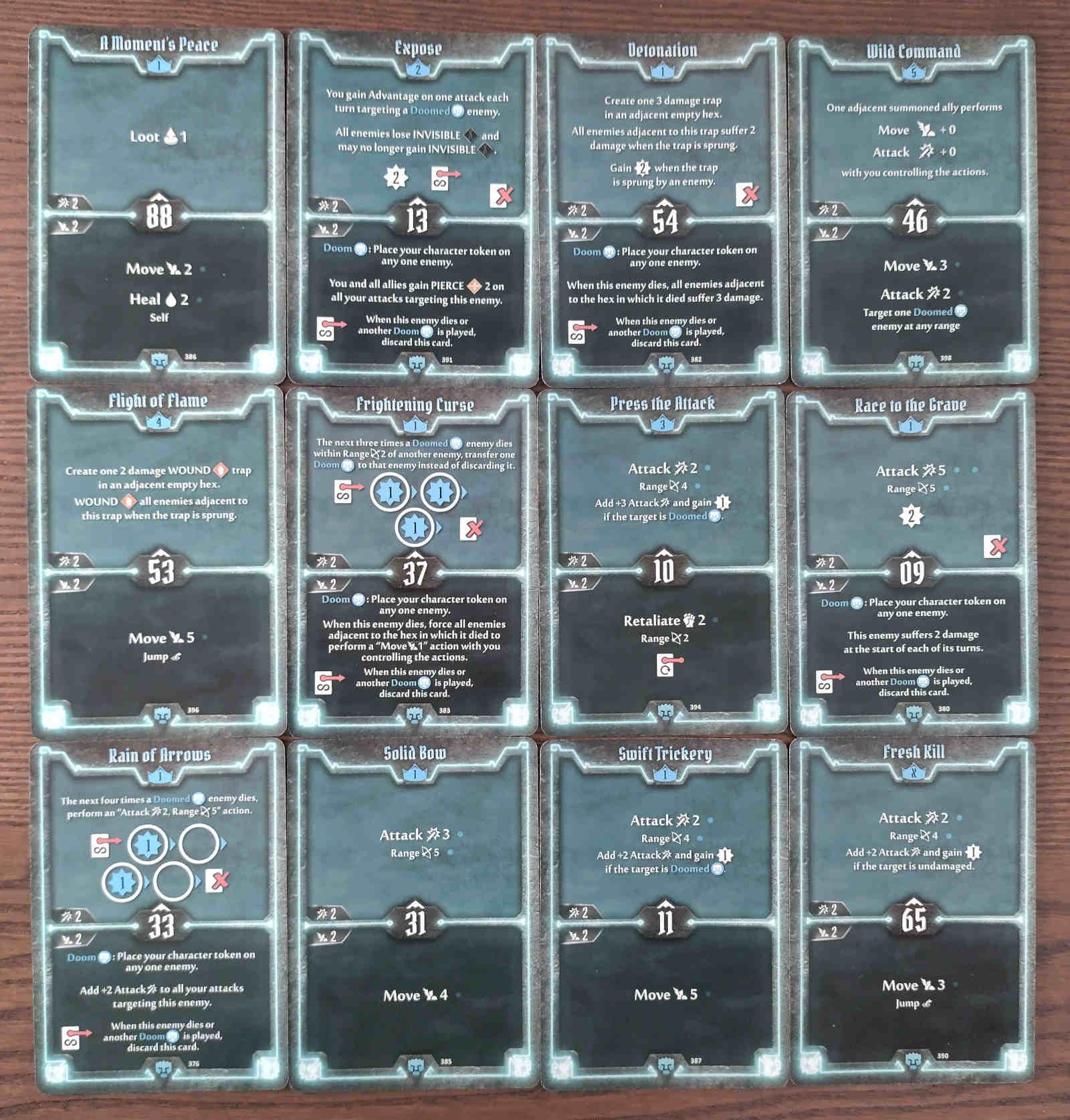 Doomstalker Expose Build level 5 deck cards