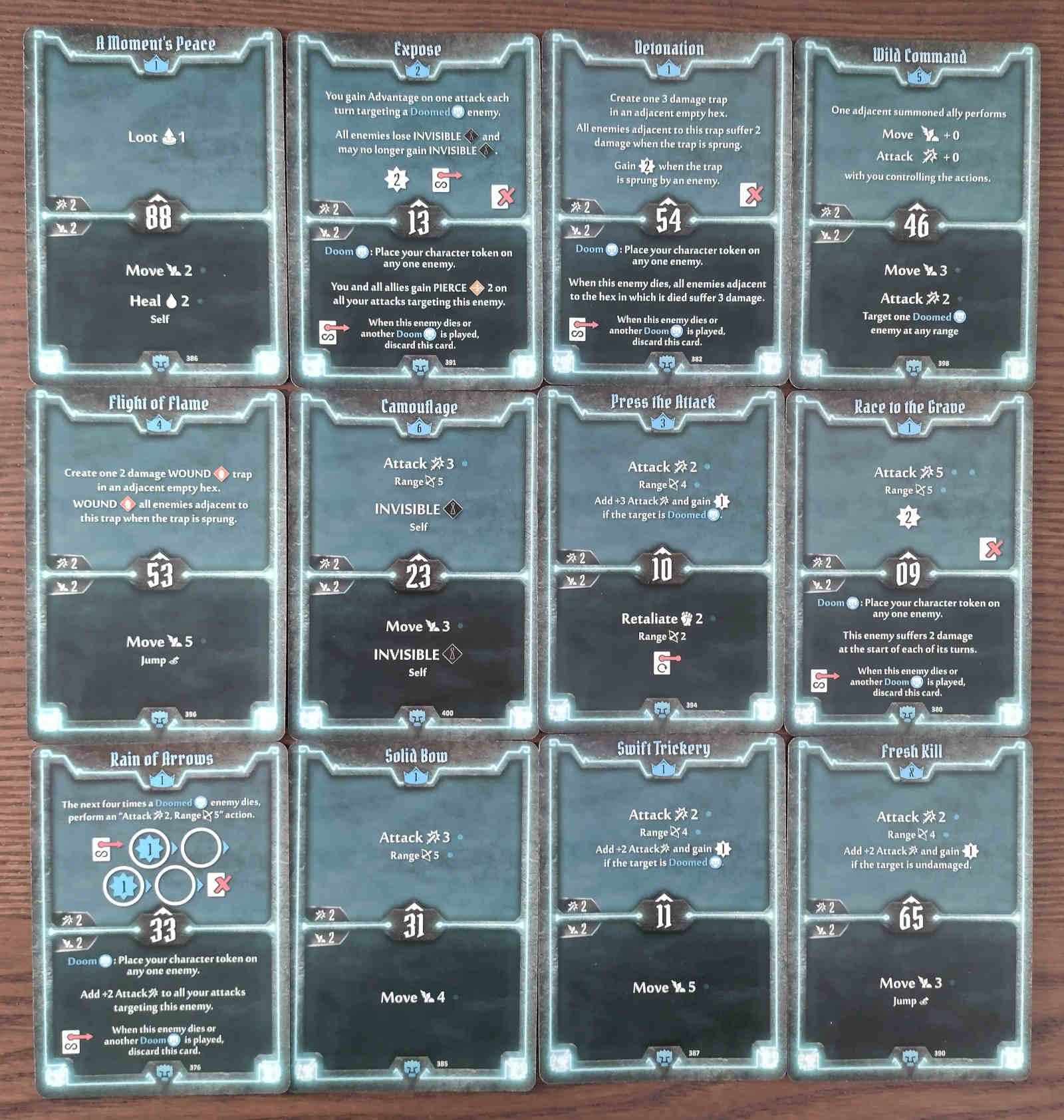 Doomstalker Expose Build level 6 deck cards