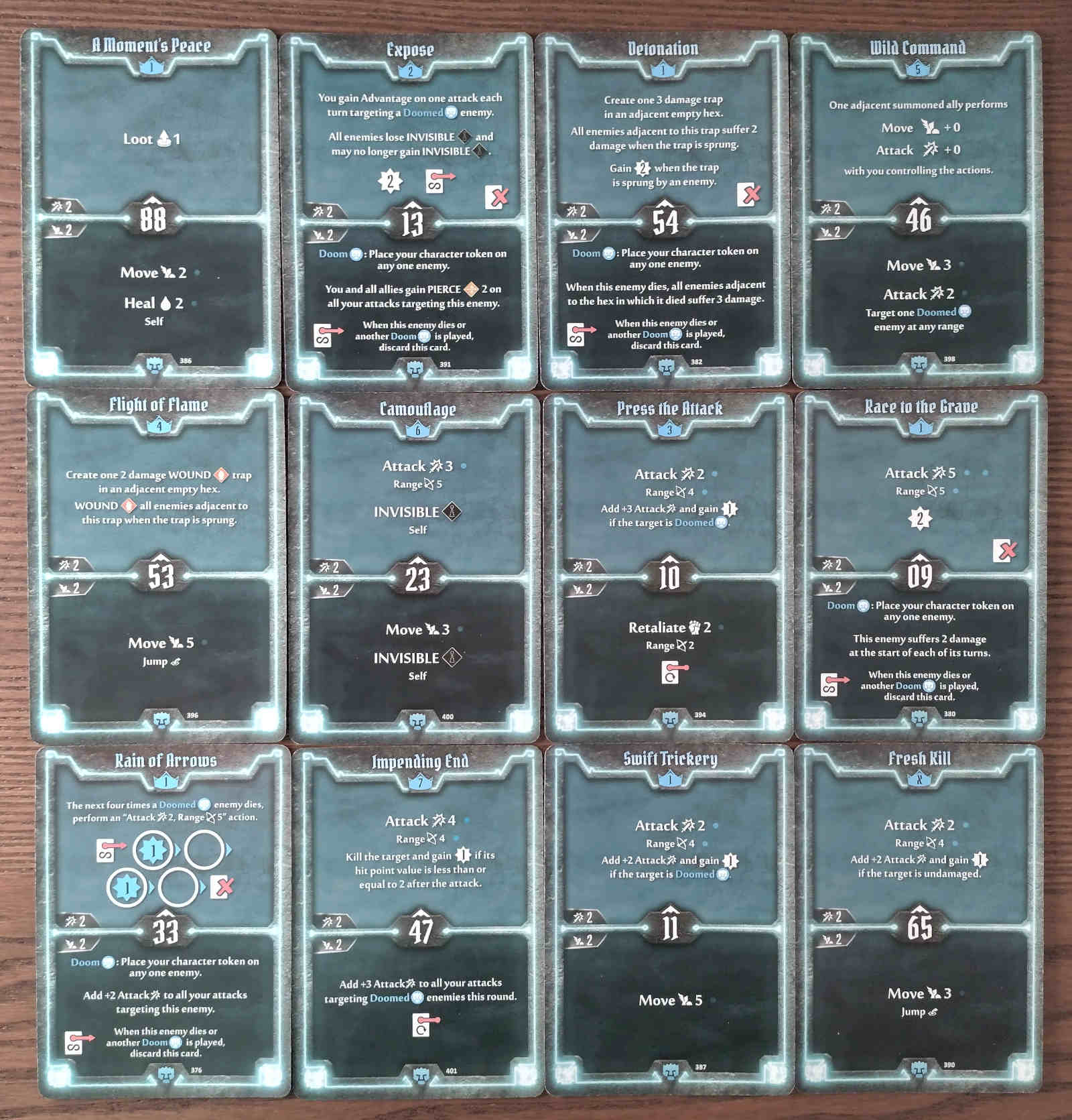Doomstalker Expose Build level 7 deck cards