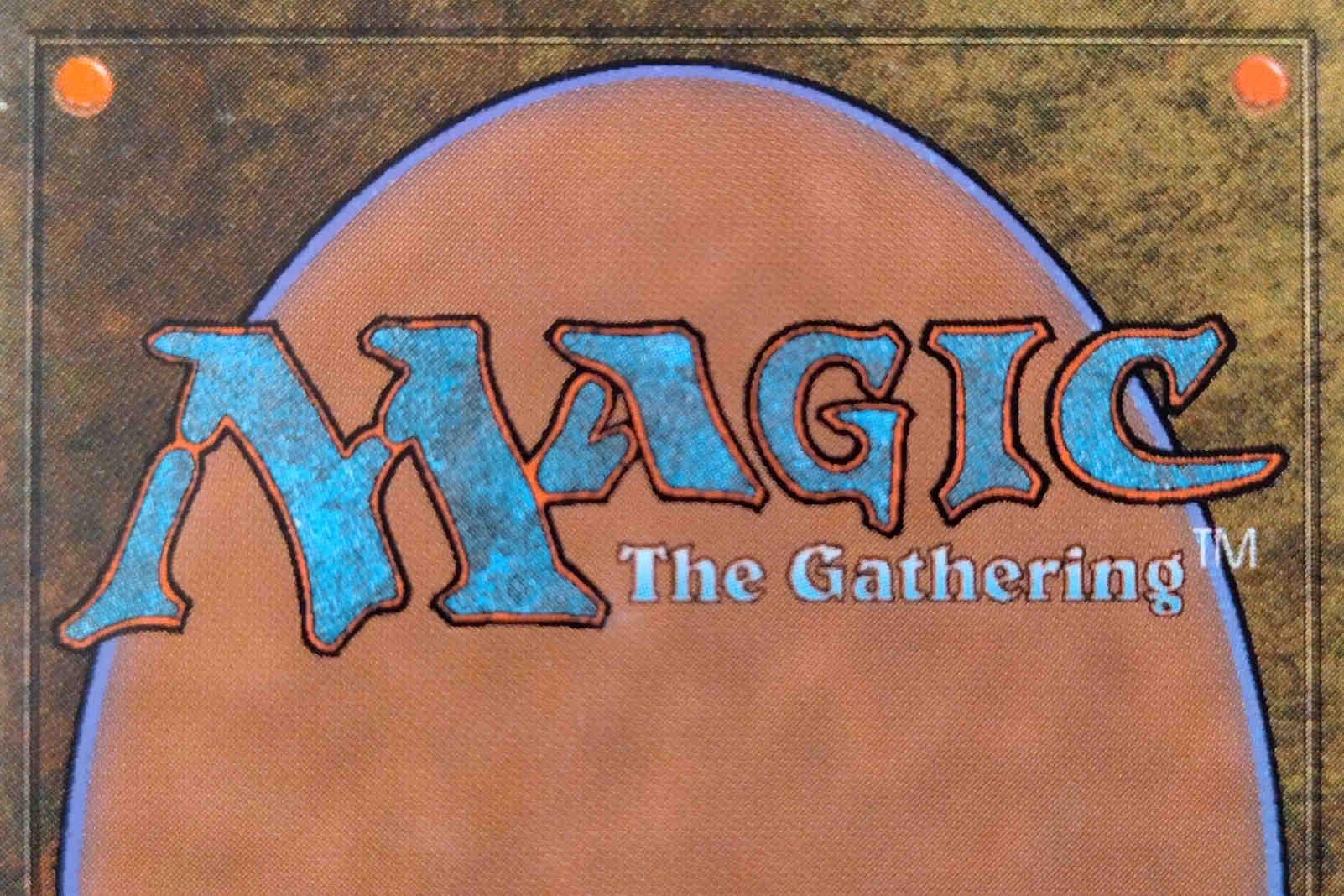 magic the gathering card back