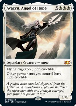 Avacyn, Angel of Hope MtG card. Image: Wizards of the Coast.