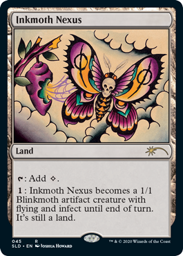 Inkmoth Nexus MtG card. Image: Wizards of the Coast.