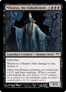 Mikaeus, the Unhallowed MtG card. Image: Wizards of the Coast.
