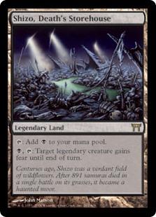 Shizo, Death's Storehouse MtG card. Image: Wizards of the Coast.