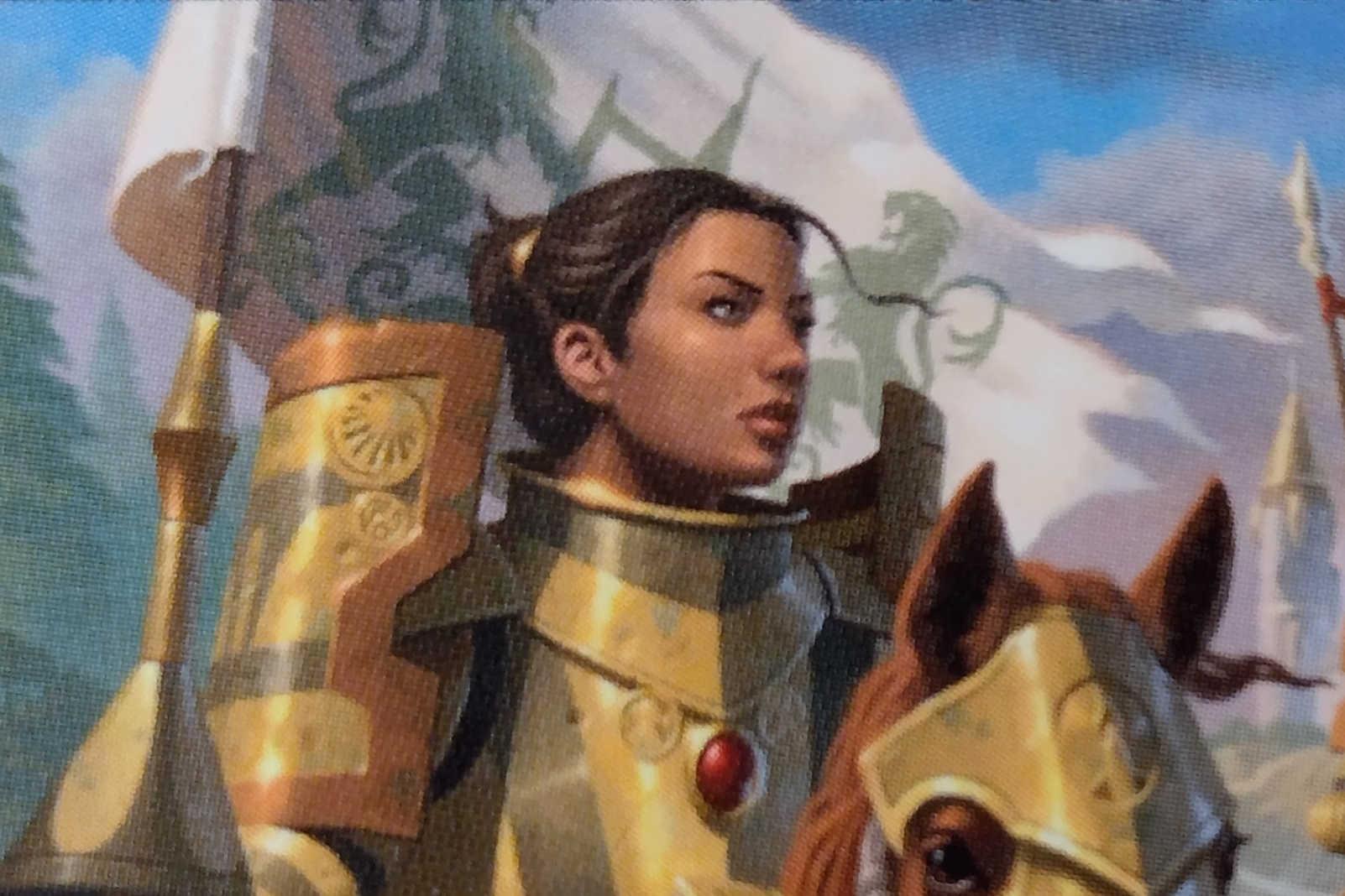 MtG vigilance card gallant cavalry